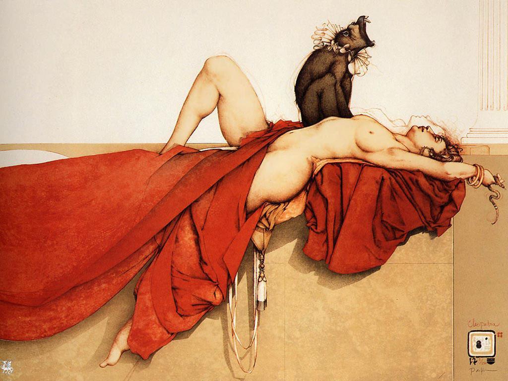 Michael Parkes. Cleopatra.