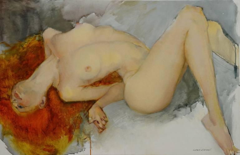 Lena Lafaki. Nude #1