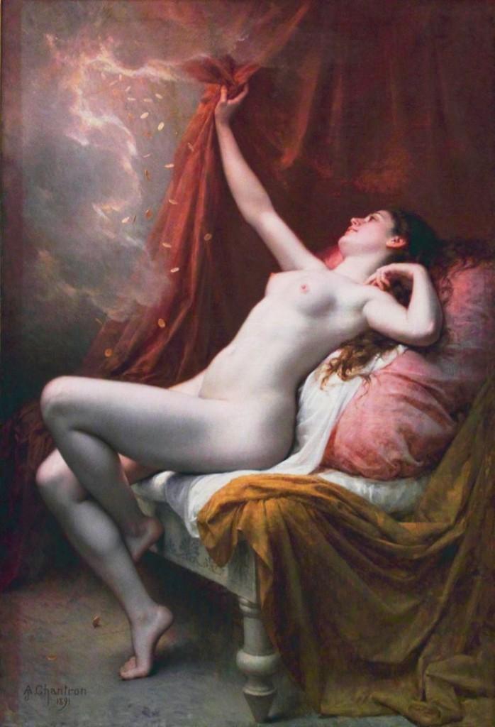 Alexandre-Jacques Chantron. Danaé