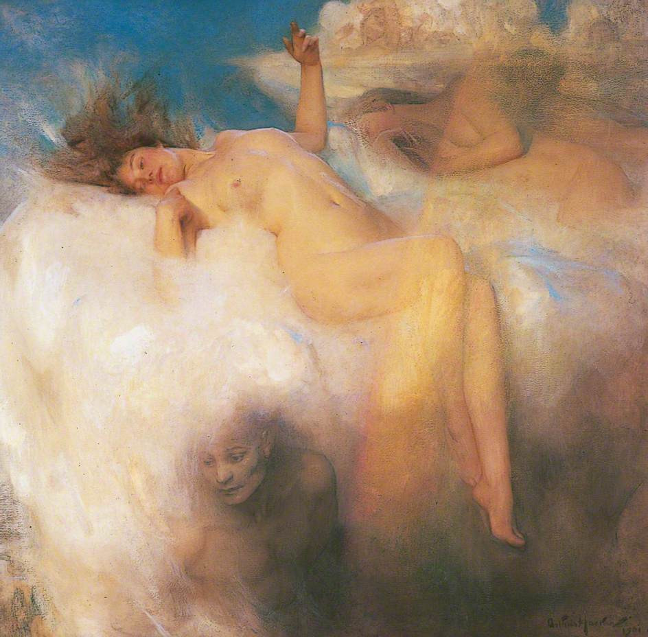 Arthur Hacker. The Cloud