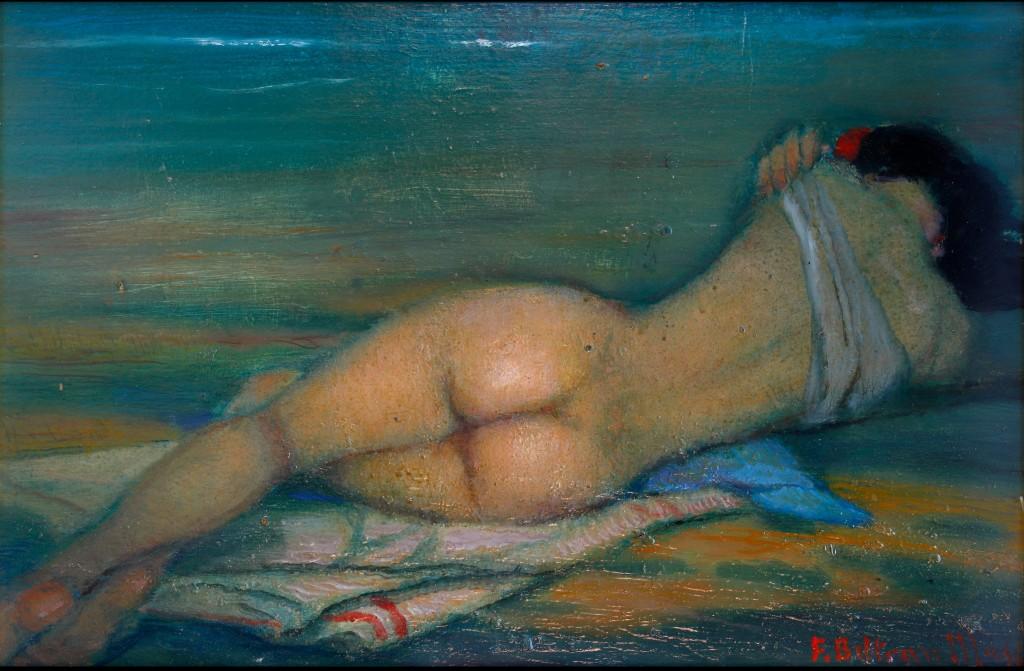 Federico Beltrán Masses. Nude