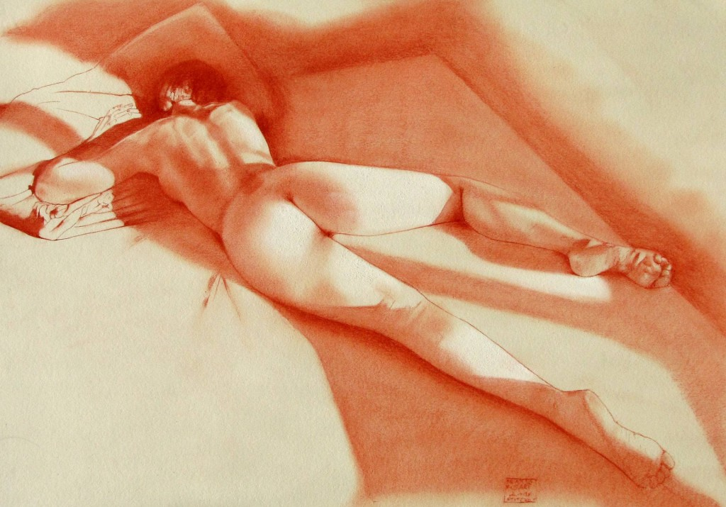 Franco Fusari. Nude #A748