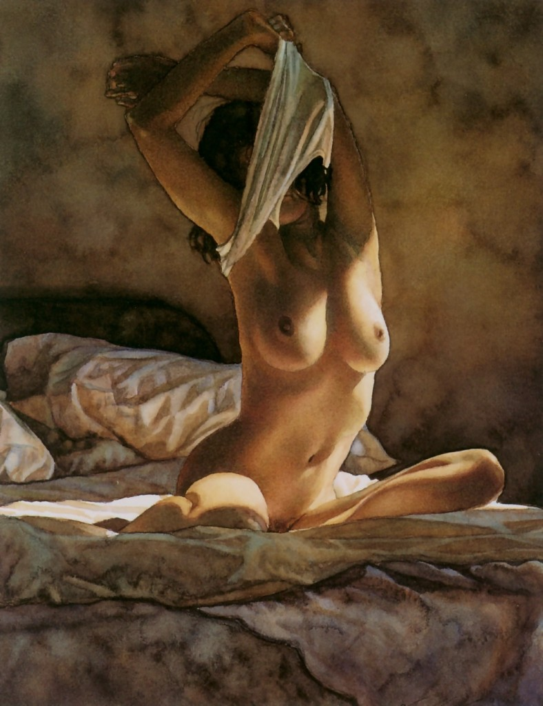 Steve Hanks. Female nude Striping