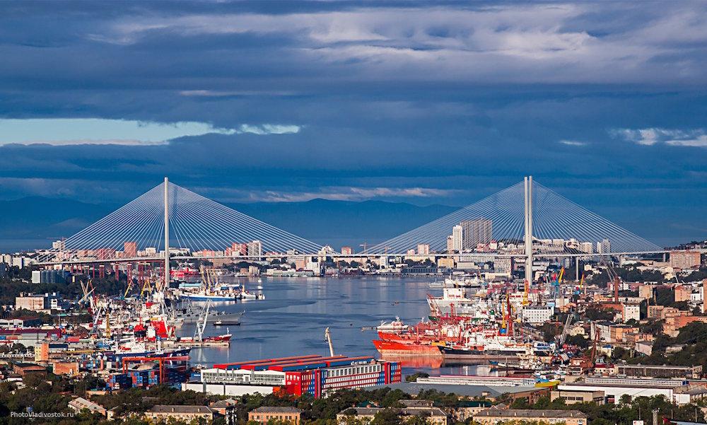 владивосток, мост, вантовый мост