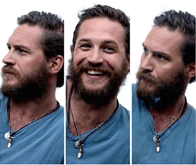 том харди, длинная борода
