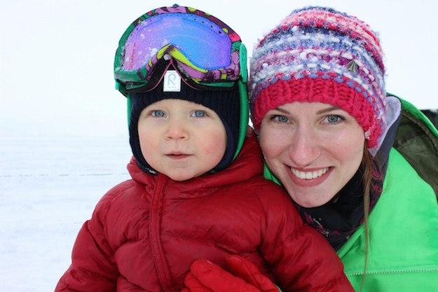 Ирина Семёнова с сыном