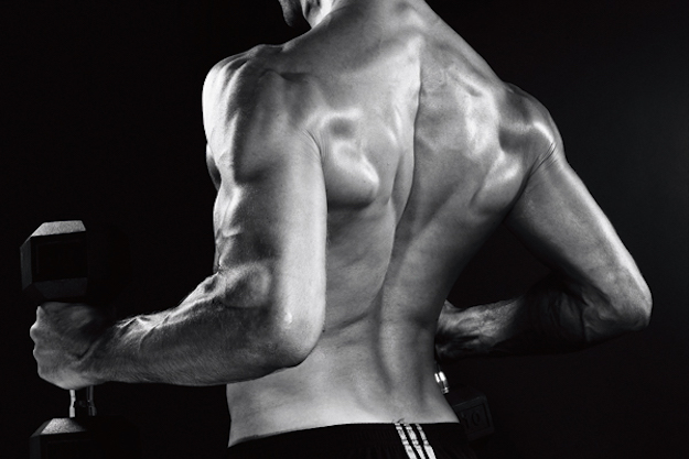 мужчина,  черно-белое фото, спина