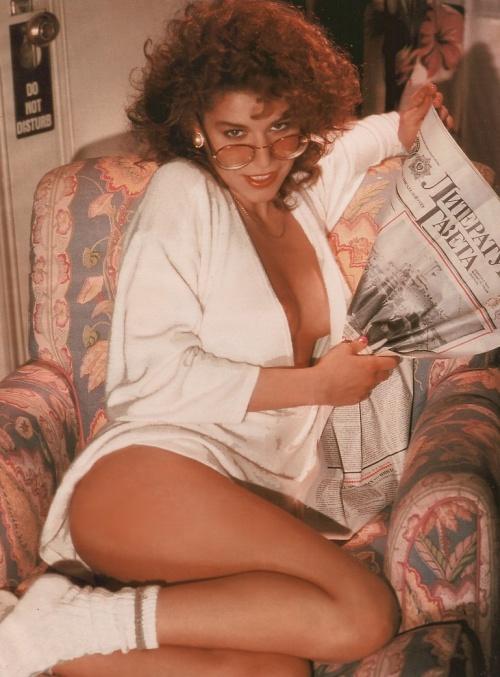 «Маленькая Вера» Наталья Негода, фотосессия для Playboy, 1989 год, Нью–Йорк