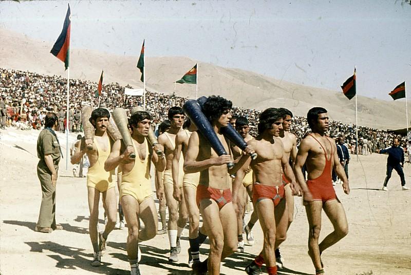 Афганские спортсмены, 1978, Кабул.