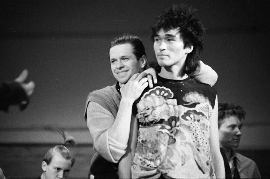 Ленинградский рок–клуб. Виктор Цой и его некрасивая фанатка, 1986 год