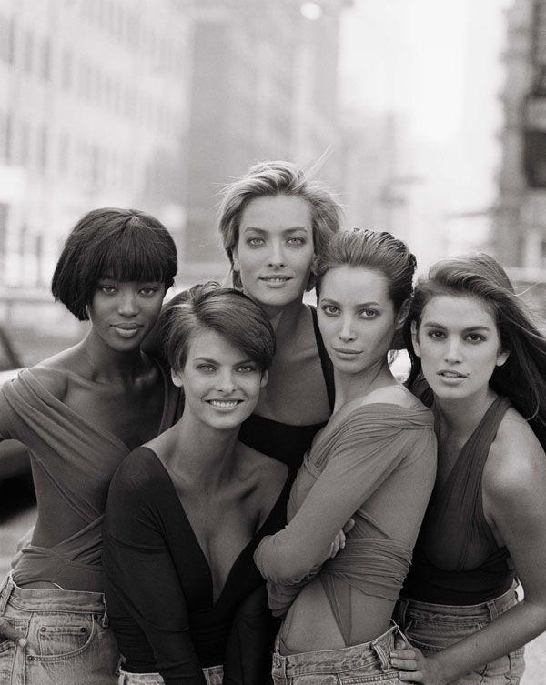 Модели, 1990 год, Великобритания