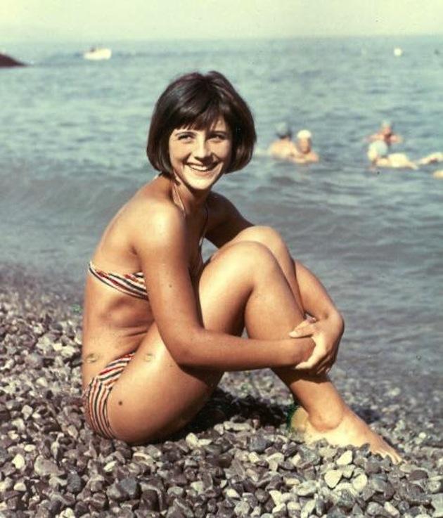 Наталья Варлей, Крым, 1966 год