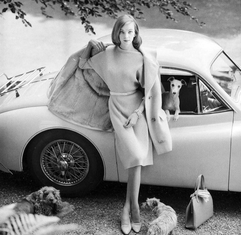 Нена фон Шлеебрюгге (мама Умы Турман), 1958 г.