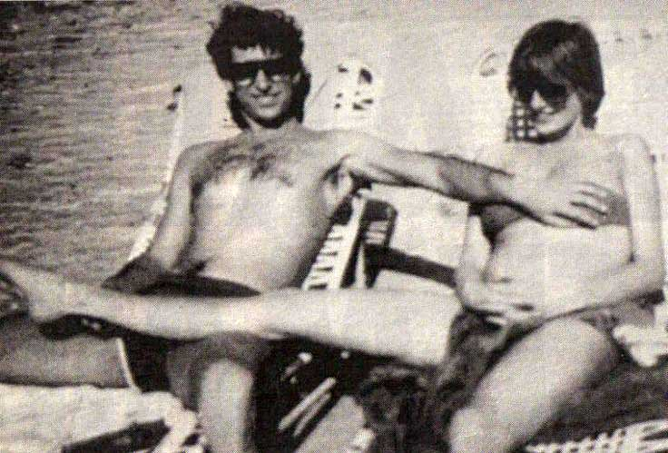 Принц Чарльз и Принцесса Диана во время отдыха на Багамах, 1982