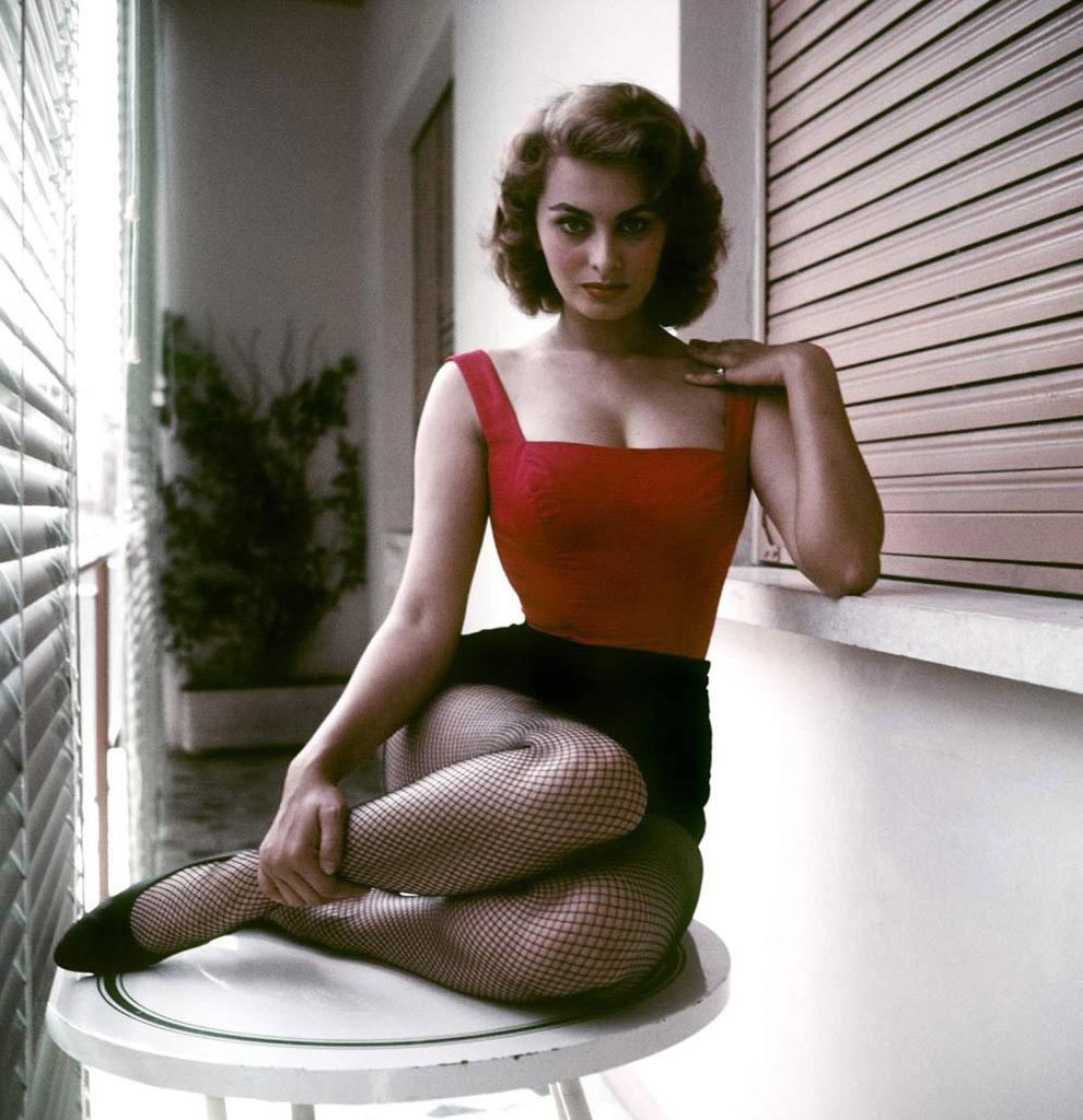 Софи Лорен, Рим, 1955 год