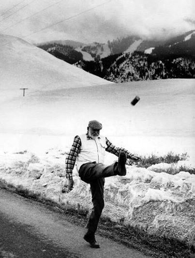 Эрнест Хемингуэй завязывает с бухлом, 1959 год, Кетчум, Айдахо