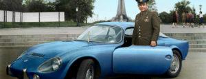 Юрий Гагарин и его Matra Bonnet Jet VS 1965 год Москва