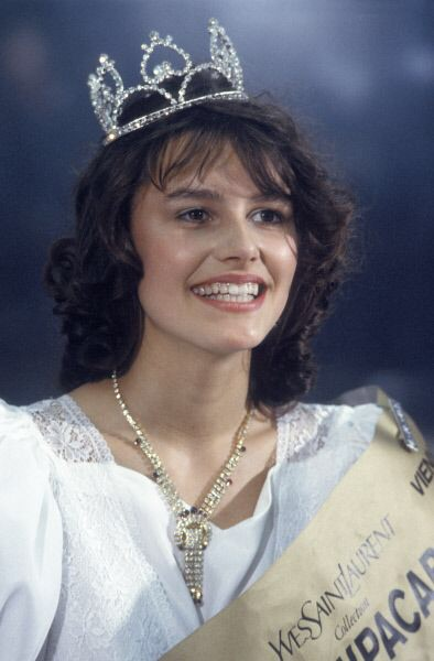 Маша Калинина, первая мисс, 1988
