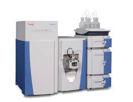 Настольный жидкостной хроматограф в сочетании с масс-спектрометром с орбитальной ионной ловушкой