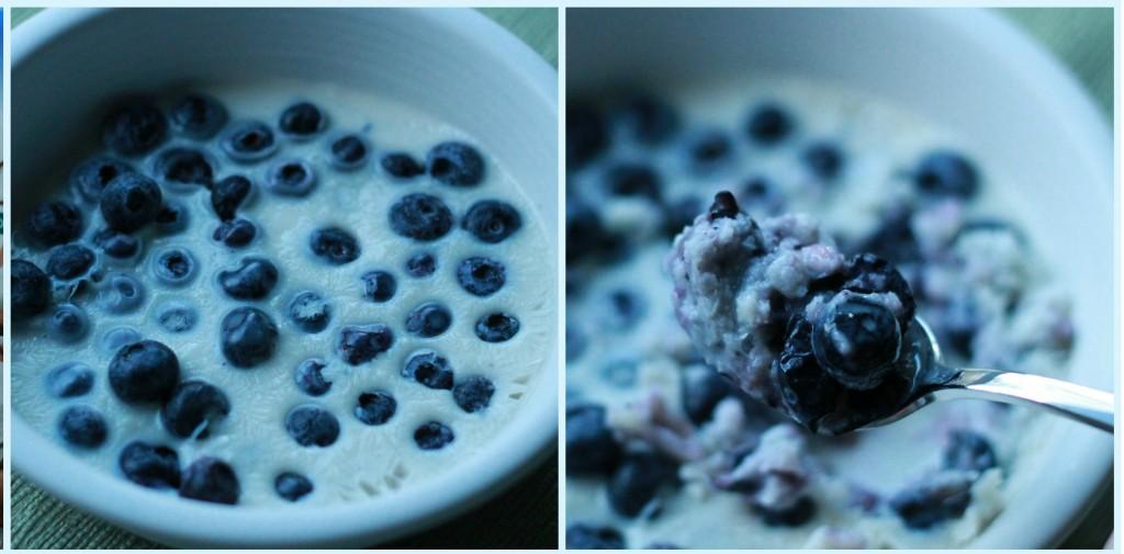 bluberry milkshake