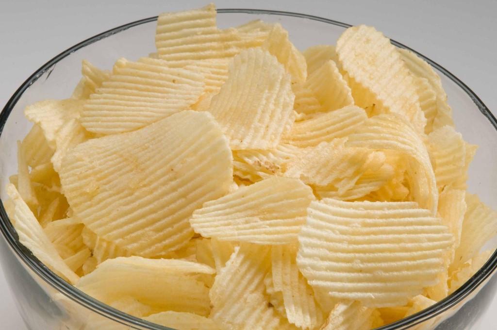 рифленые чипсы