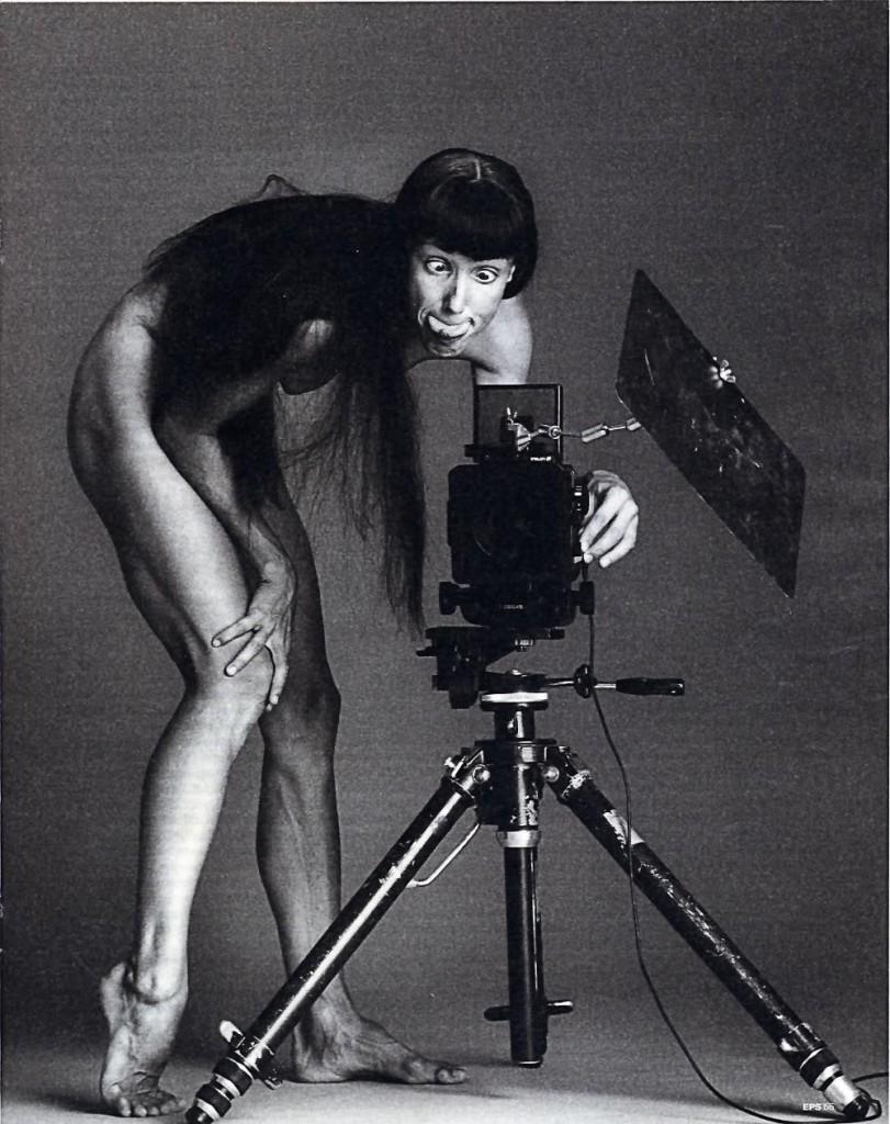 Автопортрет Сильви Гиллем, Франция, 2001