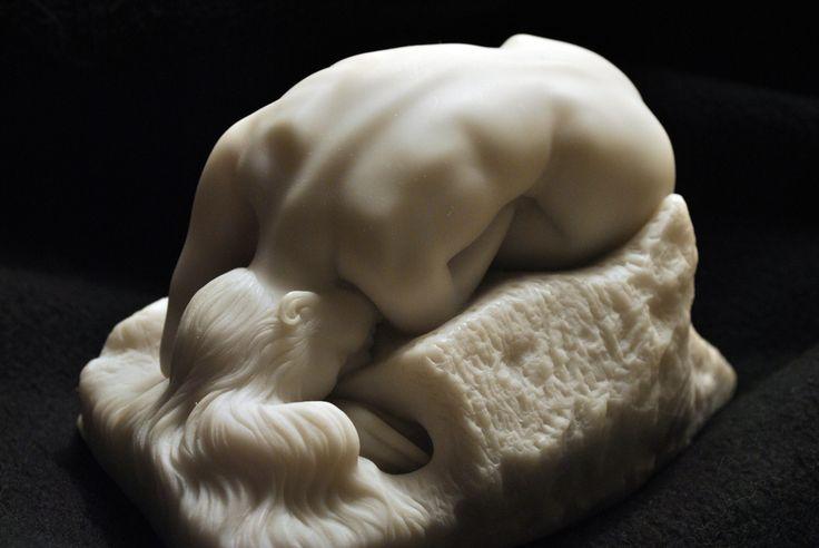 Danaid, Auguste Rodin,1885