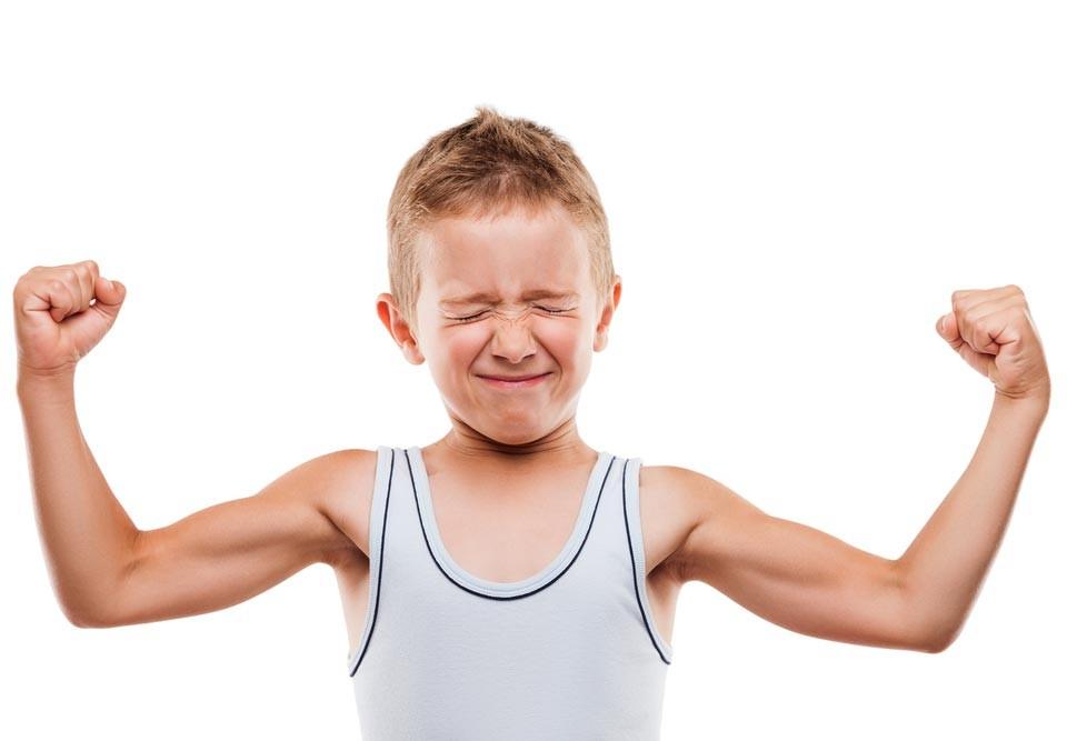 Ходить в спортзал дети могут уже с 7-8 лет