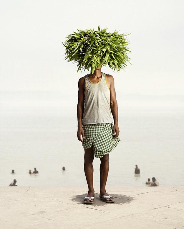 Indian-flower-seller