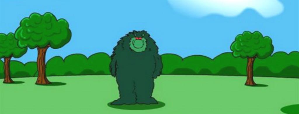 I'm Muzzy! I'm hungry!