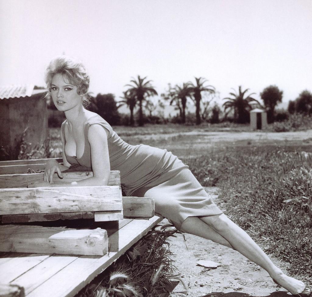 Бриджит Бардо в 1958 году