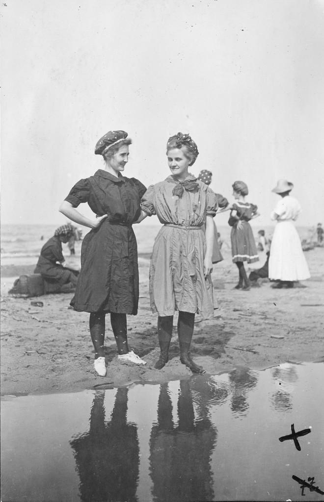 Купание в Эри, Огайо, США, 1913 год
