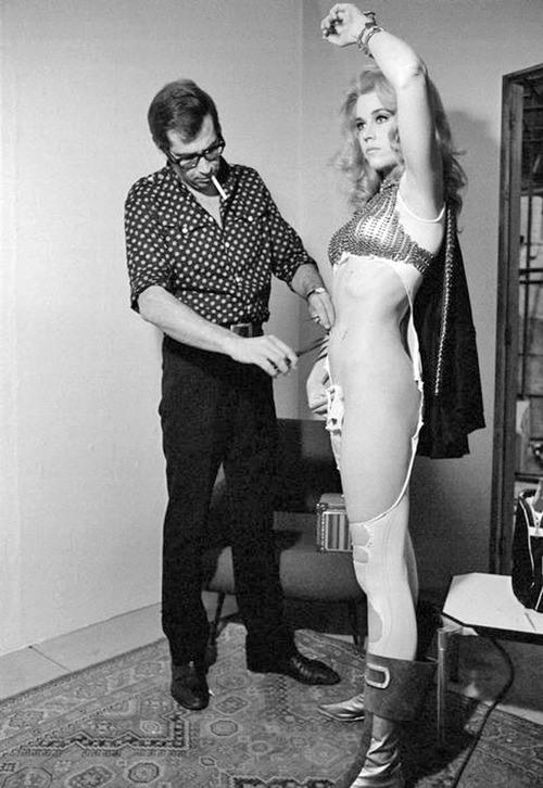 Роже Вадим и Джейн Фонда, 1968 год, США