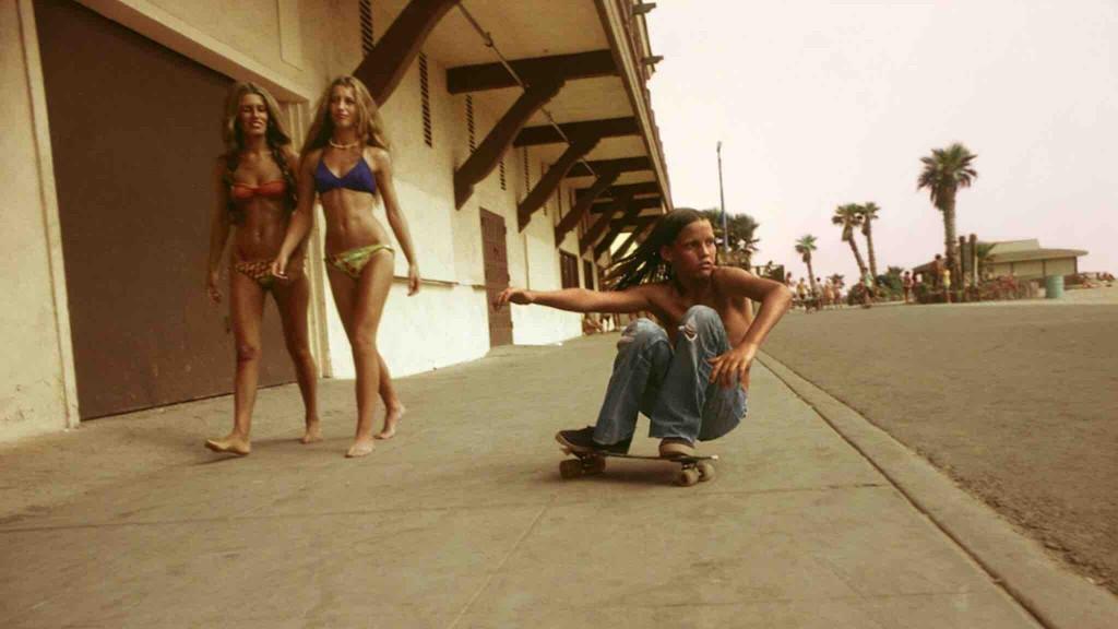 Скейтбордист, 1974, Лос–Анджелес