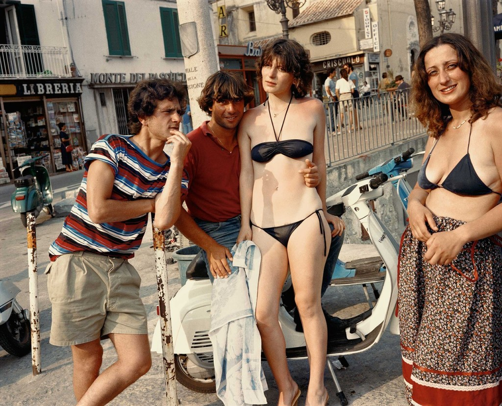 Сцена на улице, 1982 год, Амальфи, Италия