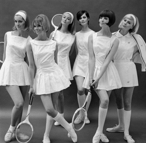 Теннисистки. Лондон, 1964г.