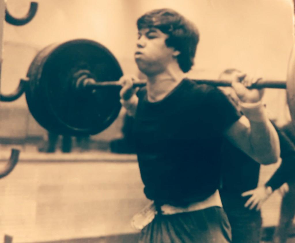 Дмитрий и тяжелая атлетика.