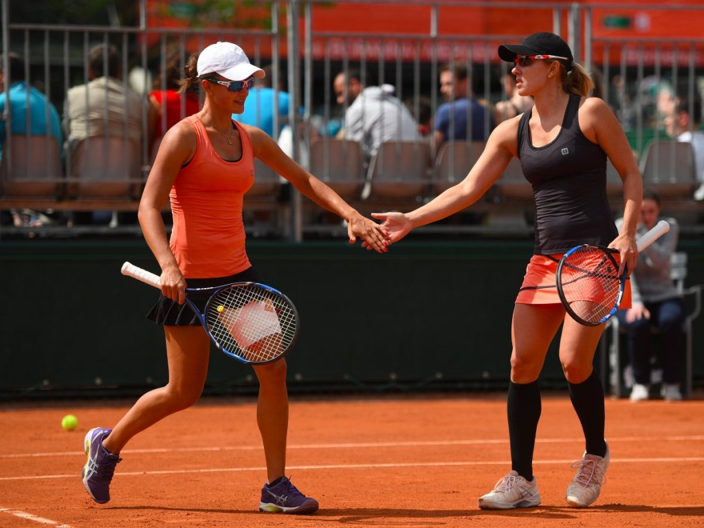 Австралийки Арина Родионова (слева) и ее старшая сестра Анастасия Родионова дебютировали в паре в Рио.