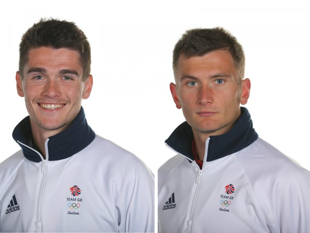 Братья марафонцы Каллум Хокинс (слева) и его старший брат Дерек.