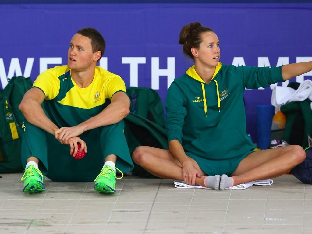 Дэвид Макеон и его младшая сестра Эмма плавали за Австралию. Эмма завоевала золото, серебро и бронзу.