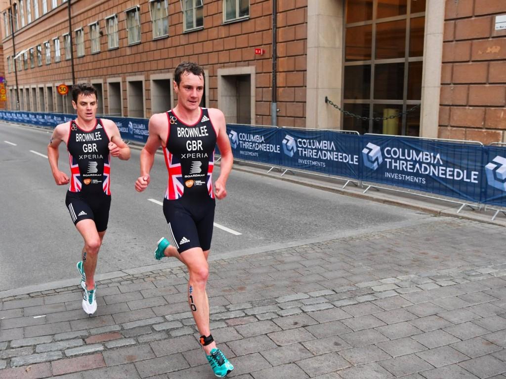На прошлой Олимпиаде британские триатлеты Джонни Браунли (слева) и его старший брат Алистер завоевали бронзу и золлото. В Рио они также претендуют на пьедестал.