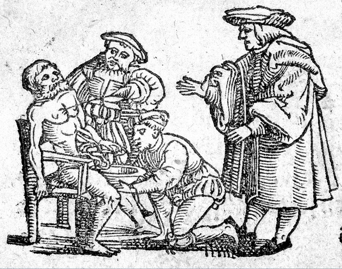 L0003183 Bloodletting, 16th Century
