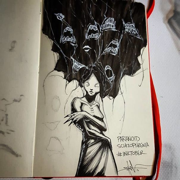 #8 Paranoid Schizophrenia