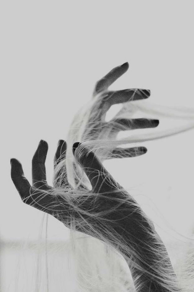 hair and hand