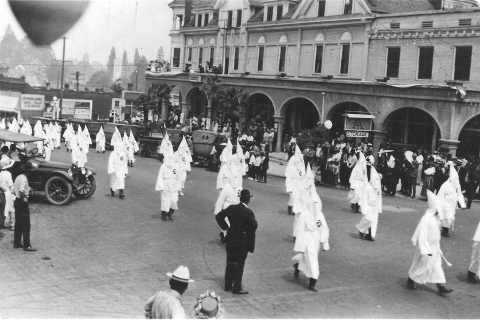 Парад Ку Клукс Клана, 1920–е годы, Ашленд, США