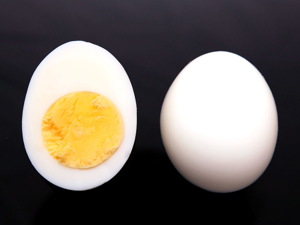 Вареное яйцо полезнее жареного.