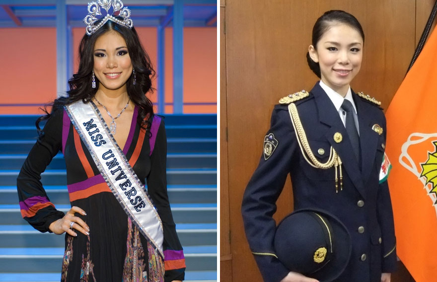 #5 Riyo Mori (Japan), Miss Universe 2007