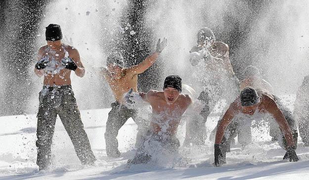 South Korea Winter Military Exercise