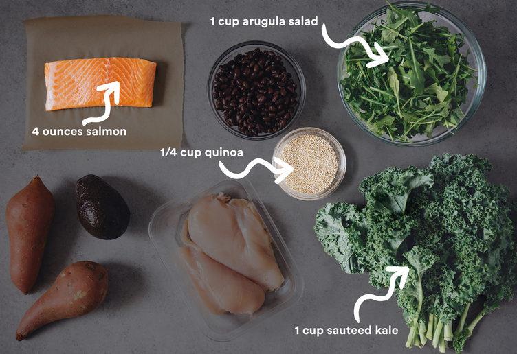простой рацион правильного питания