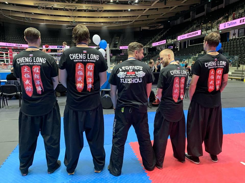 Российская команда по туйшоу Cheng Long